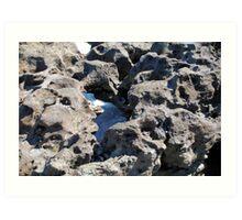 Through the Rock Art Print