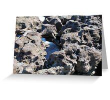 Through the Rock Greeting Card