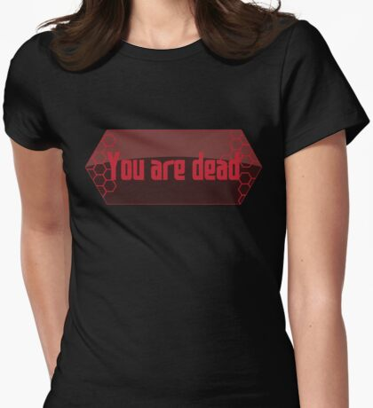 Sword Art Online - You are dead Womens Fitted T-Shirt