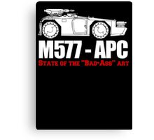 M577-APC State of the Bad Ass Art Canvas Print