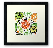 Summer energy Framed Print