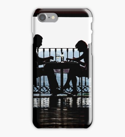 Luncheon Silhouette iPhone Case/Skin