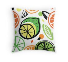 Summer energy Throw Pillow