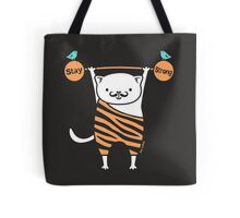 Stay Strong Kitty Cat #2  Tote Bag