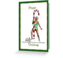North Pole Dancer Greeting Card