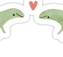 Lizard Love Sticker