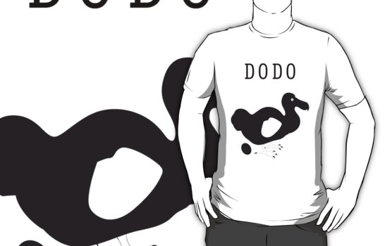 DoDo bird t-shirt by argmoth
