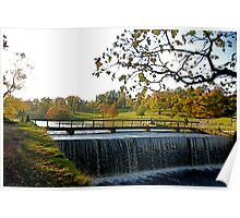 Studley Royal Lake -  the outlet! Poster