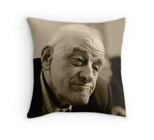 another old man..... Throw Pillow
