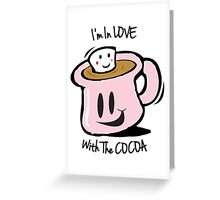 Cocoa Love Greeting Card