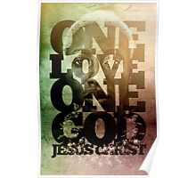 One Love, One God Poster
