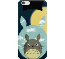 Totoro night and day iPhone Case/Skin