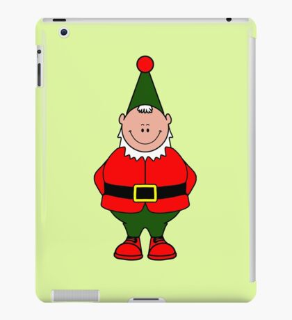 Alfie Elf (Elf Portrait) iPad Case/Skin