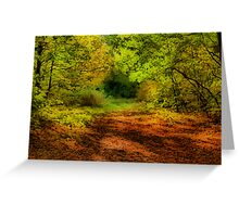 Once upon a time deep in the forest .....  Greeting Card
