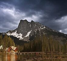 Sunset At The Emerald Lake by Alex Preiss