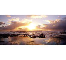 Rockpool Reflections Photographic Print