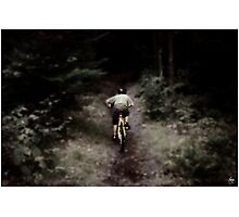 Dreams of the Trail - Mountain Biking in New Hampshire Photographic Print