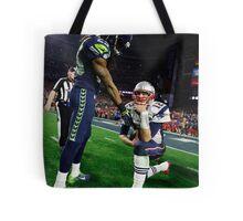 Tom Brady : The Thinker Tote Bag