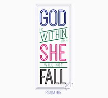 God is Within Her She Will Not Fall Tank Top