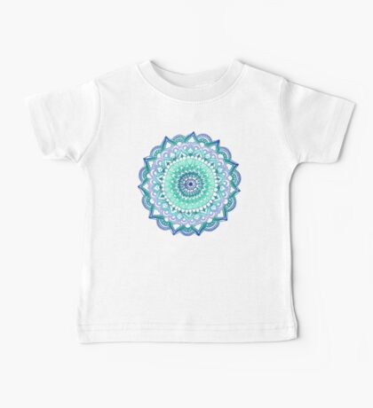 Deep Forest Flower Baby Tee