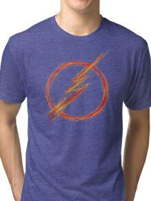 speed lightning Tri-blend T-Shirt