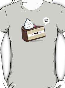 """""""Eat Me"""" - Kawaii Alice in Wonderland Cake T-Shirt"""