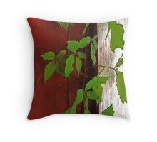 Clinging Vine Throw Pillow