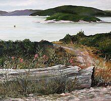 Marathon Harbor on Lake Superior by loralea