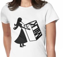 Milk... Womens Fitted T-Shirt