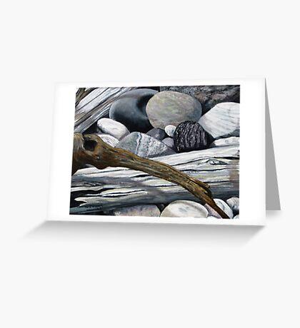 drift wood and omar Greeting Card