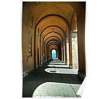 Perugian arcade Poster