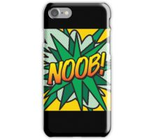 Comic book NOOB! iPhone Case/Skin