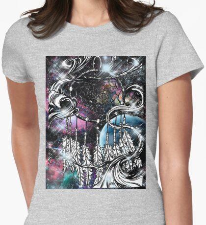dreamcatcher ll Womens Fitted T-Shirt