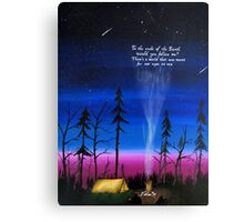 ends of the earth Canvas Print
