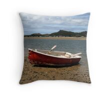 Lapped By The Tide Throw Pillow