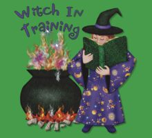 Witch In Training by SpiceTree