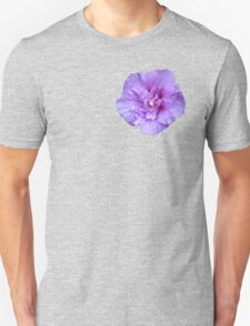 Purple hibiscus flower T-Shirt