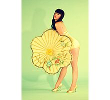 PinUp 50s poster Photographic Print