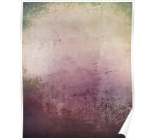Grungy purple abstract background Poster