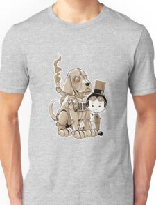 A Victorian boy and his dog Unisex T-Shirt