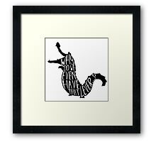 Why do we even have that lever...? Framed Print