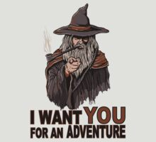 I WANT YOU FOR AN ADVENTURE by Fernando Sala