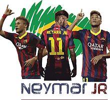 Neymar JR by diffy2009