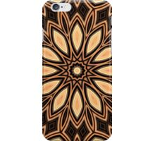 Ovals and Points Medallion Abstract iPhone Case/Skin