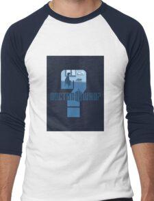 Dr Who? Men's Baseball ¾ T-Shirt