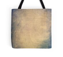 Blue and orange romantic grungy background texture with scratches Tote Bag