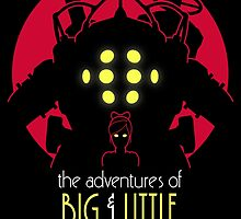 The Adventures of Big & Little by DrRoger