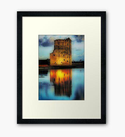 Carrigafoyle Castle Framed Print