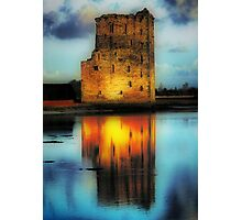 Carrigafoyle Castle Photographic Print