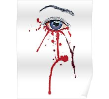 Eye with Blood Poster